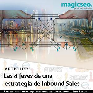 Las 4 fases de una estrategia de Inbound Sales - ARTÍCULOS