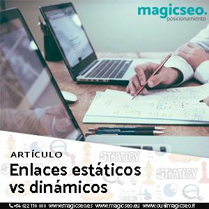 enlaces estáticos vs dinámicos - ARTÍCULOS