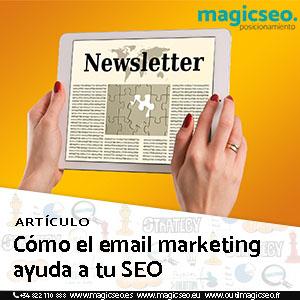 newsletter ayuda al seo web - ARTÍCULOS