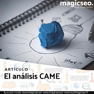 El análisis CAME - ARTÍCULOS