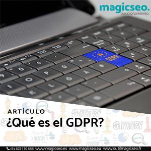 gdpr web - ARTÍCULOS