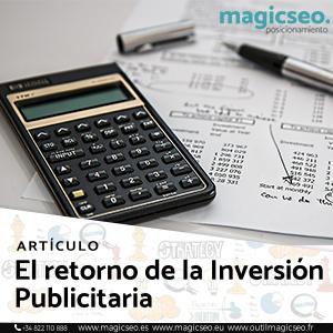 inversion publicitaria - ARTÍCULOS