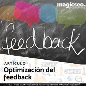 optimizacion feedback web - ARTÍCULOS