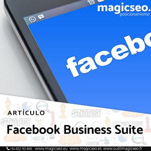 Facebook Business Suite - ARTÍCULOS