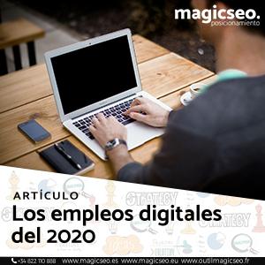 Los empleos digitales del 2020 web - ARTÍCULOS