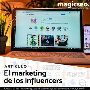 Marketing influencers web  - ARTÍCULOS