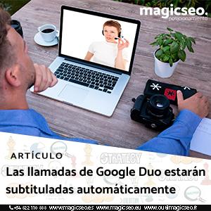 google duo web - ARTÍCULOS