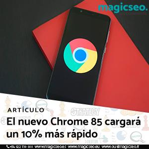 nuevo chrome web - ARTÍCULOS