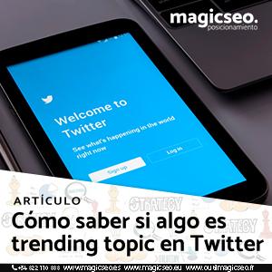 twitter trending topic - ARTÍCULOS